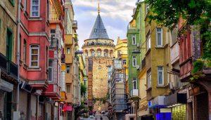 نمایی-از-برج-گالاتا-استانبول