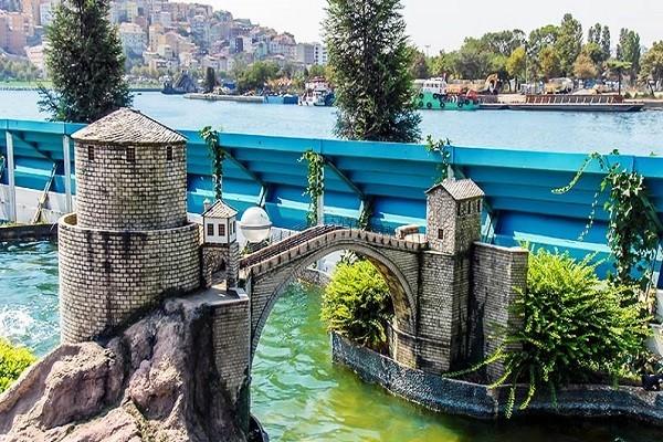 یکی-دیگر-از-ماکتهای-پارک-مینیاتورک-استانبول