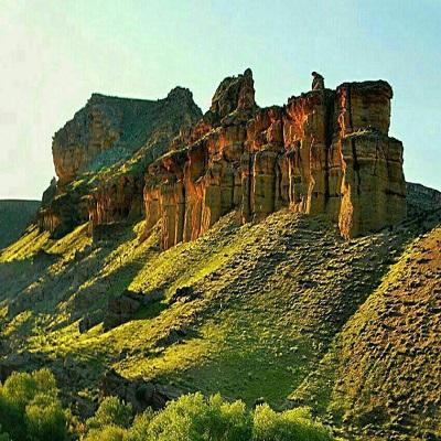قلعه کاووس تپه وان