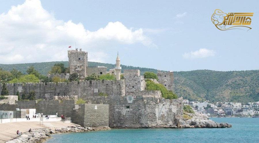 بازدید از قلعه بدروم