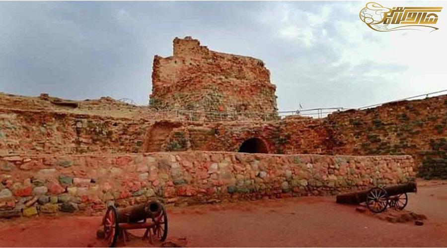 قلعه پرتغالی ها در تور قشم
