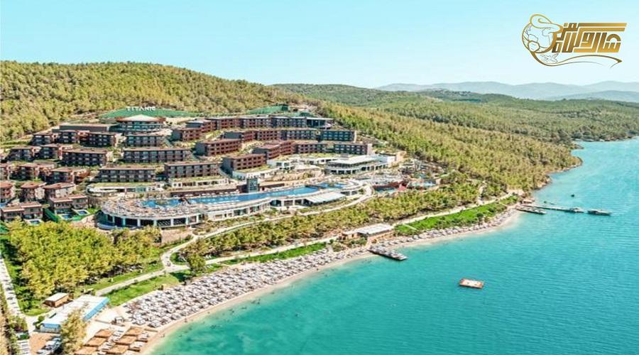 هتل 5 ستاره در تور بدروم