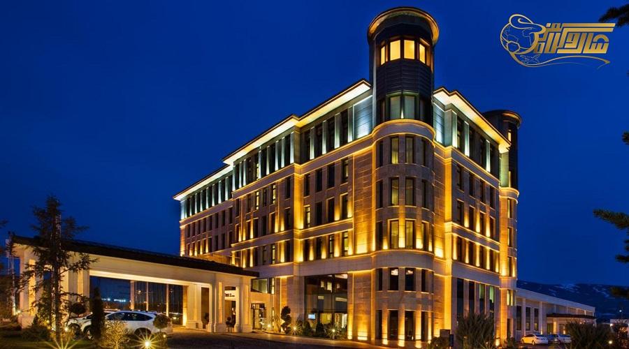 هتل 5 ستاره در تور وان