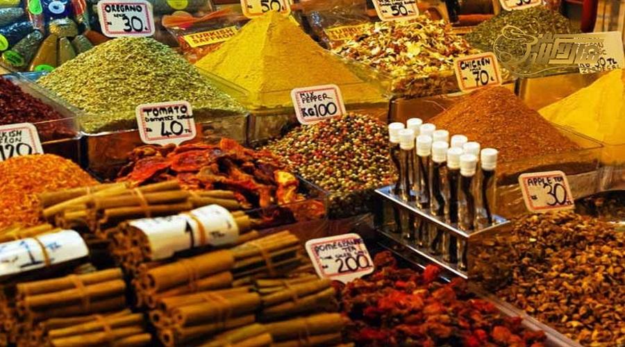 بازدید از بازار ادویه در تور زمینی استانبول
