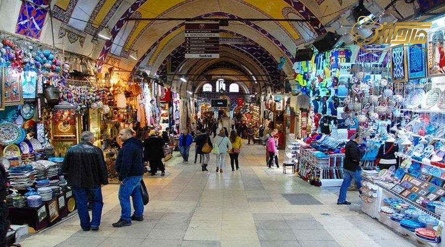بازدید از بازار بزرگ در تور زمینی استانبول