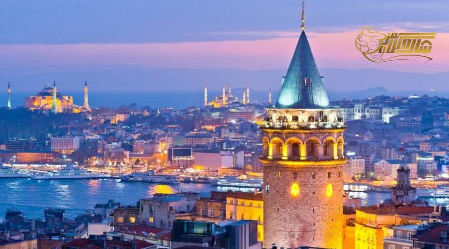 بازدید از برج گالاتا در تور زمینی استانبول