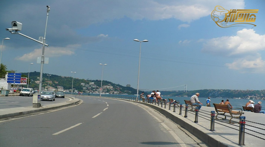 مسیر حرکت تور زمینی استانبول