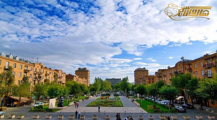 آب و هوا در تور ارمنستان