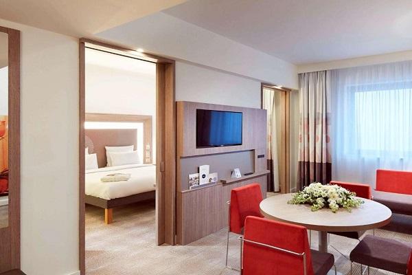 اتاق های 2 تخته هتل نووتل قونیه