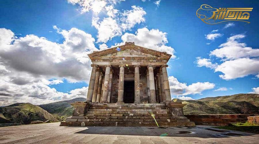بازدید از معبد گارنی در تور ارمنستان