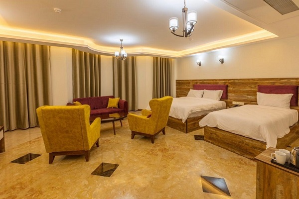 اتاق های هتل آتامان قشم