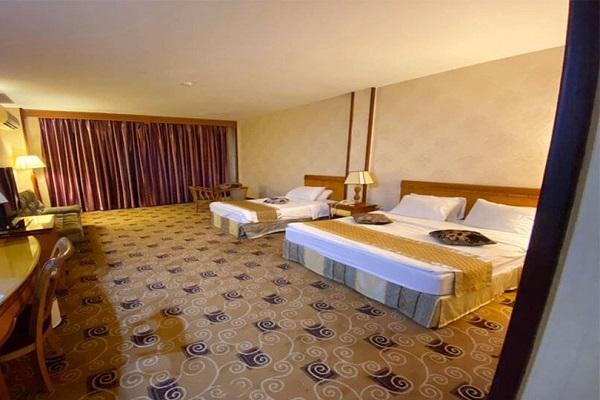 اتاق های هتل پارمیس کیش