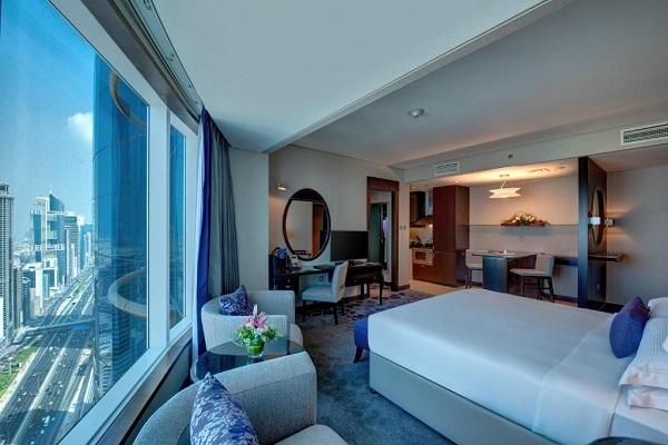اتاق های هتل رز ریحان دبی