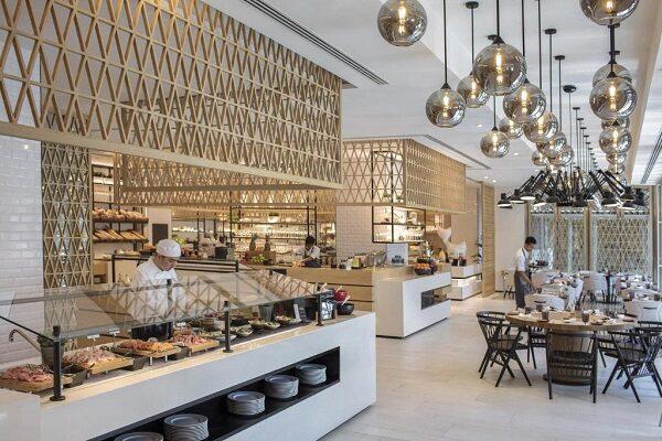 رستوران هتل البندر روتانا دبی