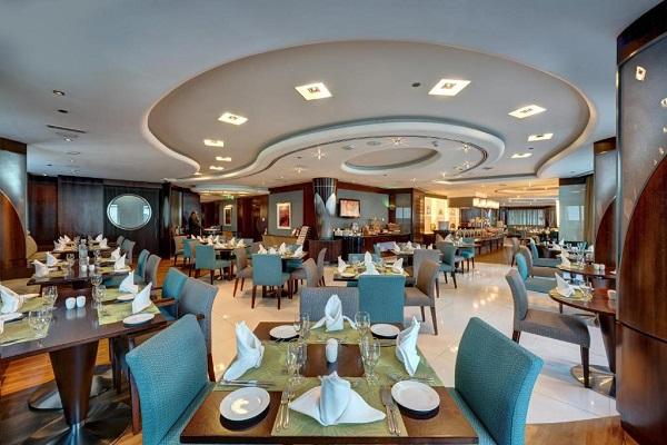 رستوران و کافی شاپ هتل رز ریحان دبی