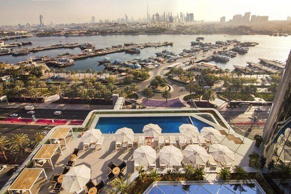 نمایی از هتل البندر روتانا دبی