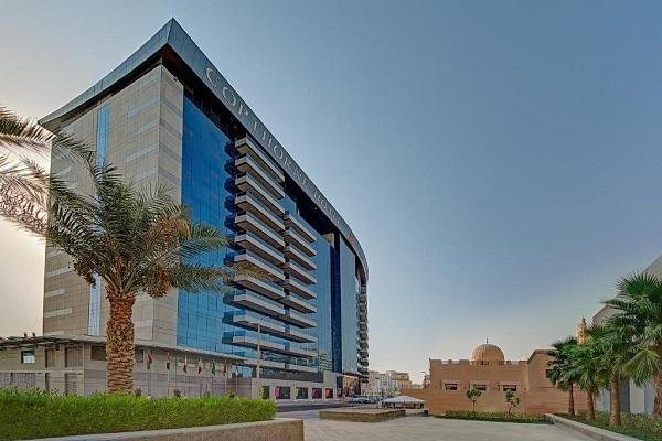 نمایی از هتل کاپتورن دبی