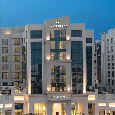 هتل حیات پالاس رقه دبی